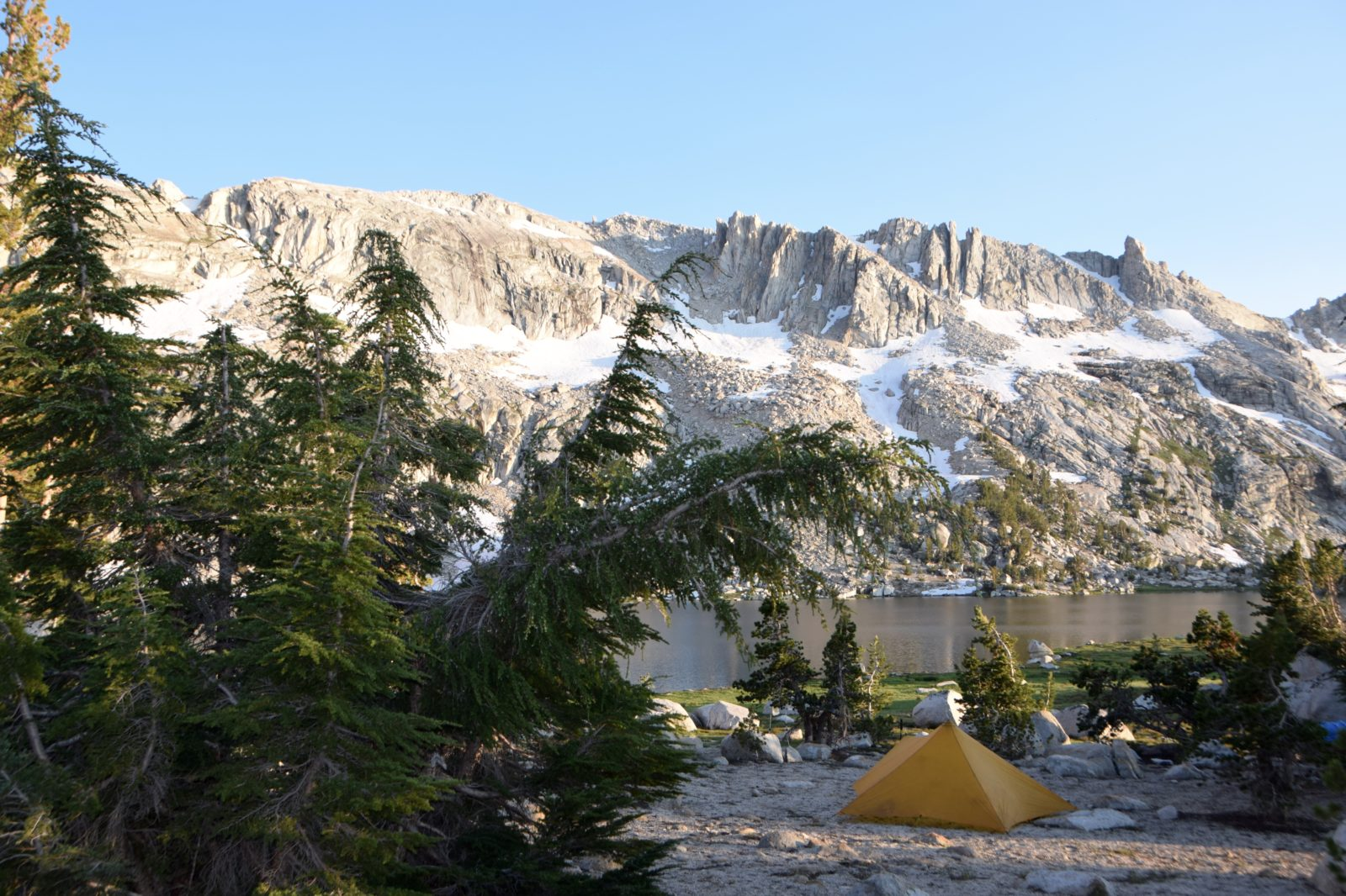 campsite in Yosemite