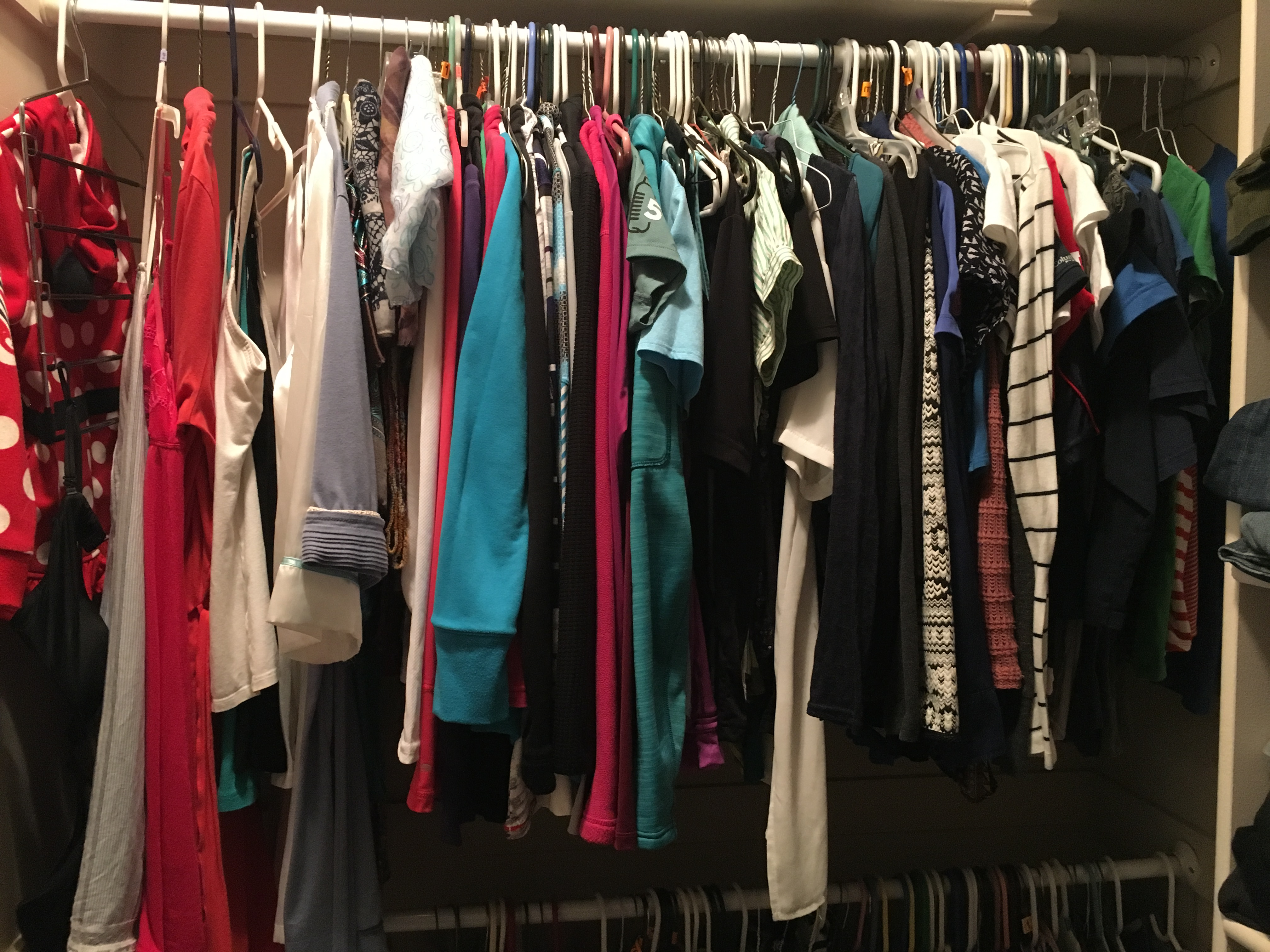 after photo of my closet 1