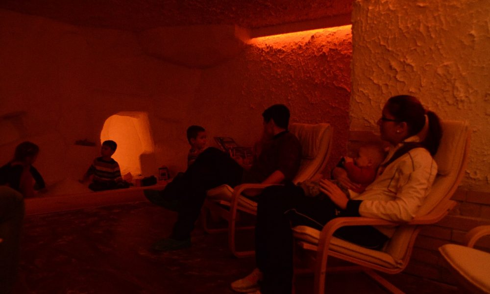 salt room therapy